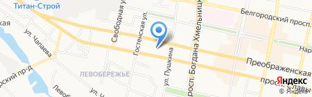 ОНОНАС на карте Белгорода