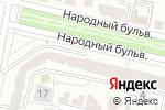 Схема проезда до компании ЯМАЛ в Белгороде