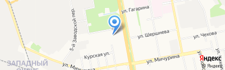 Колизейстрой на карте Белгорода