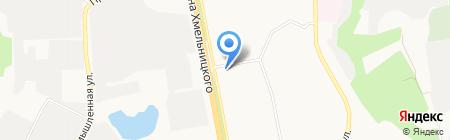 Новая Дверь на карте Белгорода