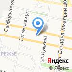 Белгородские известия на карте Белгорода