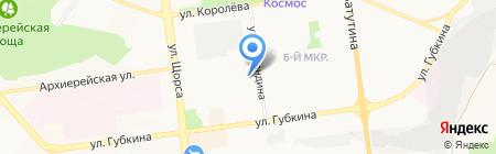 Галерея красоты на карте Белгорода