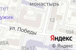 Схема проезда до компании Центральная оптика в Белгороде