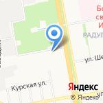 Адвокатский кабинет Маняшина В.В. на карте Белгорода