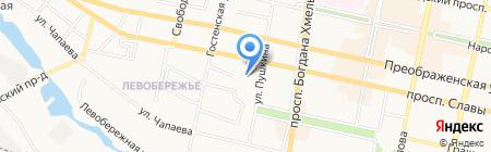 ДЮСШ №2 на карте Белгорода