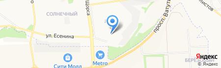 Детский сад №18 на карте Белгорода