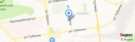 Мастерская по ремонту обуви на ул. Шаландина на карте Белгорода