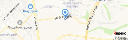 Мастерская по ремонту автостекол на карте Белгорода