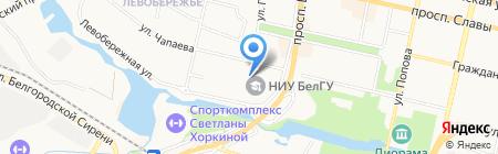 Межрегиональный Центр Стоматологических Инноваций на карте Белгорода
