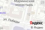 Схема проезда до компании Интрига в Белгороде