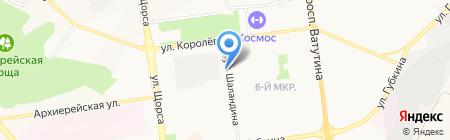 На все СТО на карте Белгорода