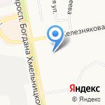 Детский сад №47 на карте Белгорода