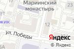 Схема проезда до компании SUBWAY в Белгороде