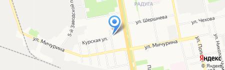 У Тиффани на карте Белгорода