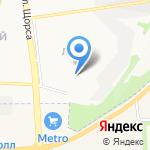 Лучик на карте Белгорода