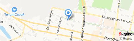 Банкомат РайффайзенБанк на карте Белгорода