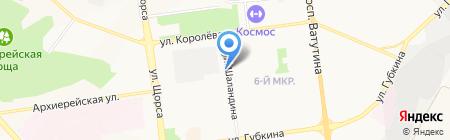 Гараж 12 на карте Белгорода