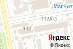 Схема проезда до компании Чайка в Белгороде