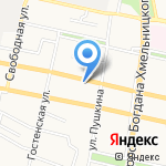 Русский стиль на карте Белгорода