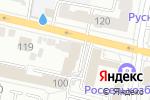 Схема проезда до компании ЛАЙТ в Белгороде