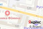 Схема проезда до компании Brow bar в Белгороде