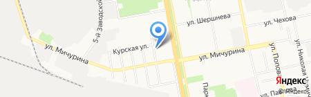 Караван игрушек на карте Белгорода