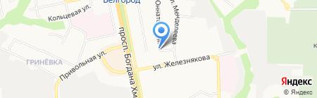 Major Express на карте Белгорода