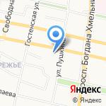 СДЮСШОР №2 на карте Белгорода