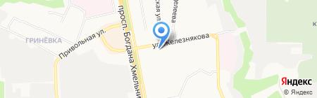 Метро на карте Белгорода