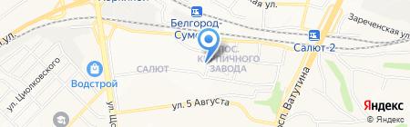 Библиотека №3 на карте Белгорода