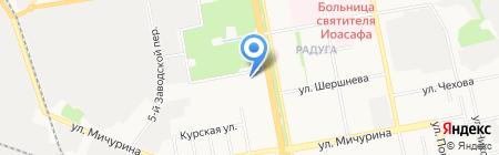 Адвокатская контора №3 на карте Белгорода