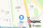 Схема проезда до компании Продуктовый магазин в Таврово