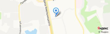 Архидом на карте Белгорода