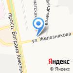 Сбербанк на карте Белгорода