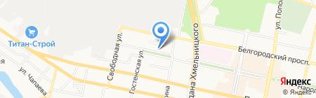 Newmans на карте Белгорода