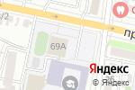 Схема проезда до компании СШОР №2 в Белгороде