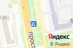 Схема проезда до компании A+Store в Белгороде