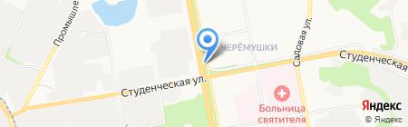 КУББА на карте Белгорода