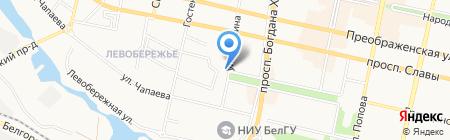 Покровский собор на карте Белгорода