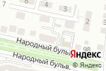 Схема проезда до компании Ремонтная компания в Белгороде