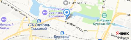 Белгородский Зоопарк на карте Белгорода