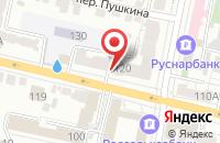 Схема проезда до компании Макси дом в Белгороде