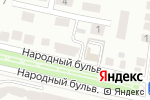 Схема проезда до компании ВсеИнструменты.ру в Белгороде