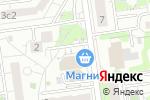 Схема проезда до компании Асбест в Белгороде