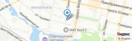 Автовек на карте Белгорода