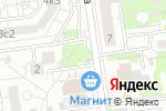 Схема проезда до компании Хрусталь Белогорья в Белгороде