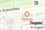 Схема проезда до компании Чистый город в Белгороде