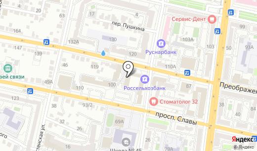 Бухгалтерия Плюс. Схема проезда в Белгороде