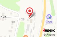 Схема проезда до компании Пора попариться в Таврово