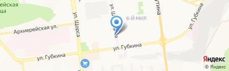 Шиворот навыворот на карте Белгорода